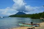 Pulau Manado Tua dari pulau Bunaken